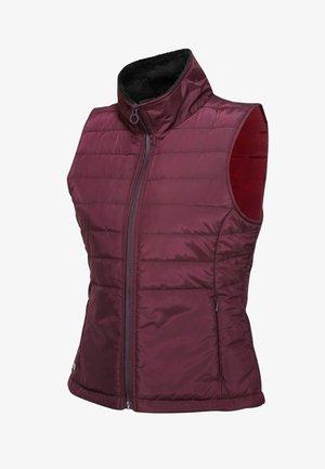 Waistcoat - dk burgundy