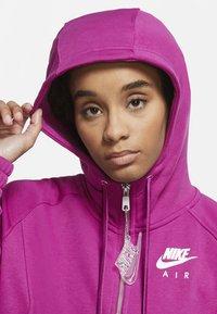 Nike Sportswear - Zip-up hoodie - cactus flower/white - 3