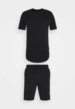 ONSNEIL LONGY SHORTS AND TEE SET - Shorts - black