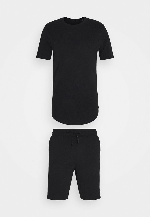 ONSNEIL LONGY SHORTS AND TEE SET - Shorts - black