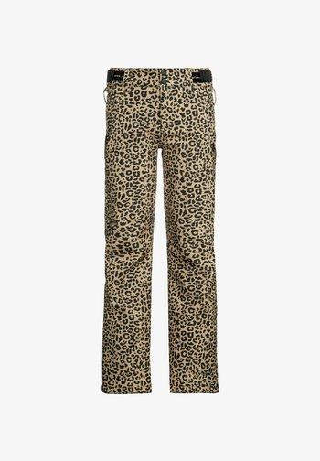SOFTSHELL CLASSY JR - Snow pants - tortilla