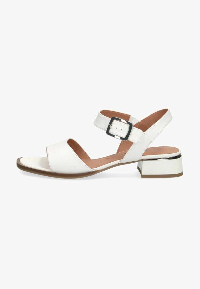 Sandales - white nappa