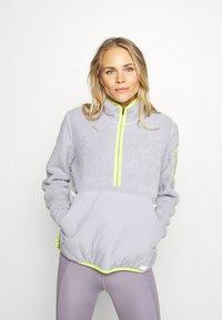 New Balance - Q SPEED ANORAK - Sports jacket - whisper grey - 0