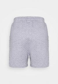 Missguided - QUILTED - Tracksuit bottoms - grey - 1