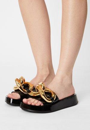 EPIRUS - Pantofle - black