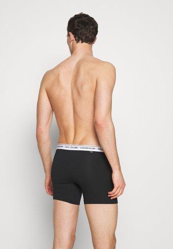 BRIEF 2 PACK - Pants - black