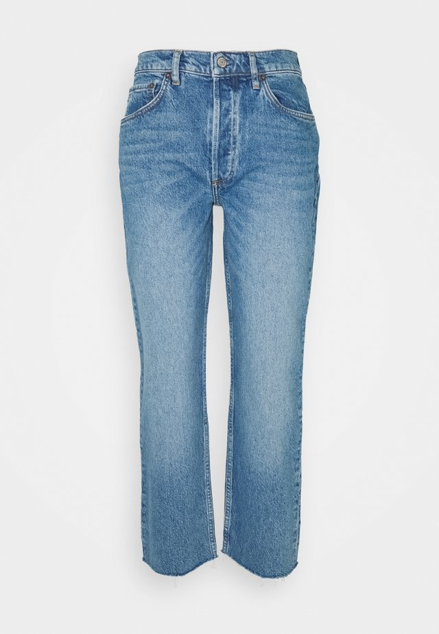 THE TOMMY STRETCH HIGH RISE - Džíny Straight Fit - the fire within