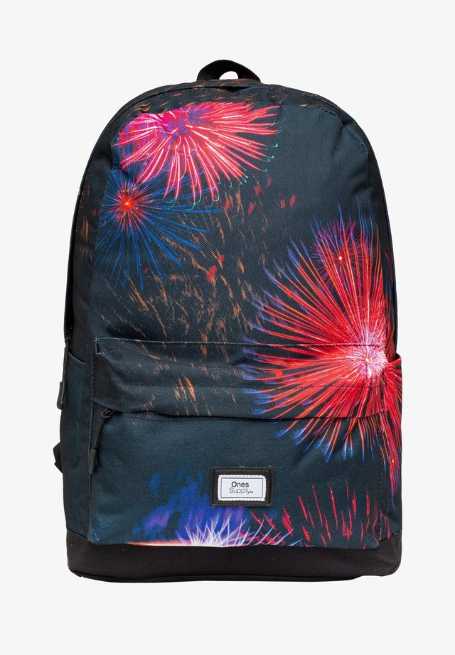 ELECTRIC FIREWORKS - Ryggsäck - black