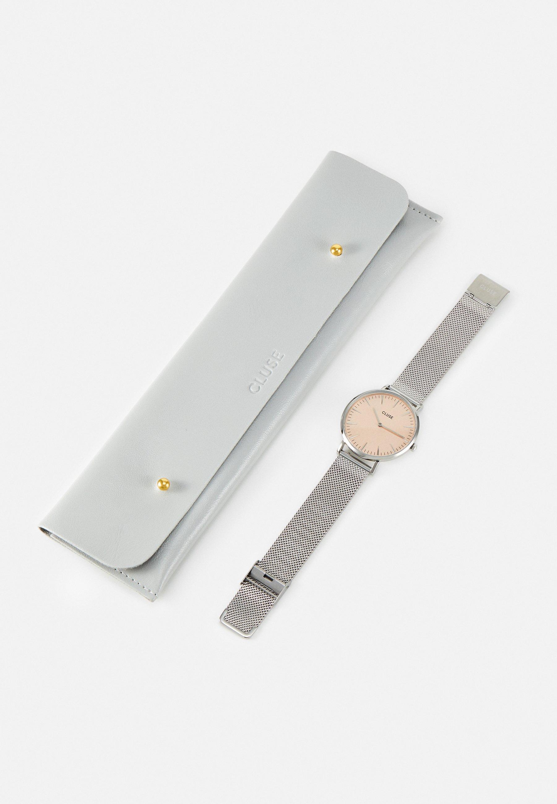 Cluse BOHO CHIC - Klokke - silver-coloured/rose gold-coloured/sølv C9h1jtTco78nj3o