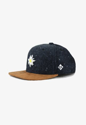 EDELWEISS FLANELL - Cap - blau