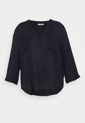 CARFRANKY SLEEVE V NECK - Blouse - night sky