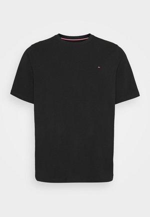 STRETCH TEE - T-shirt med print - black