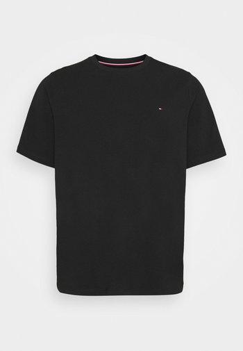 STRETCH SLIM FIT TEE - Basic T-shirt - black
