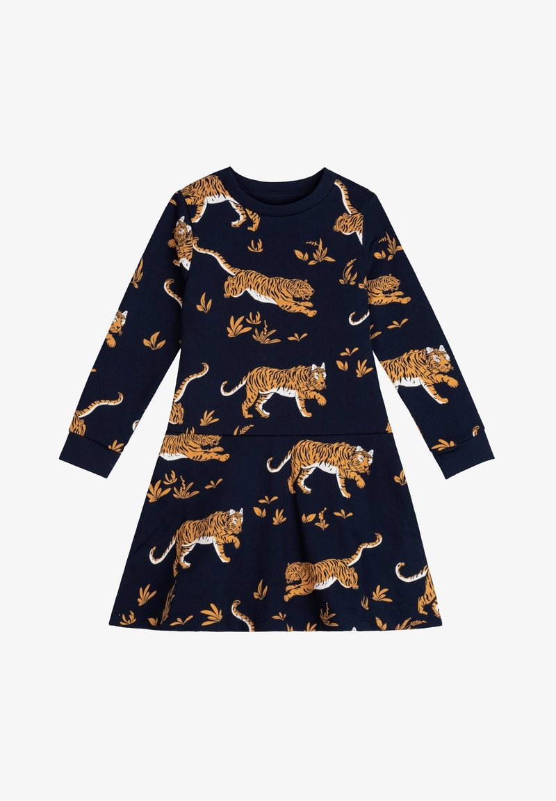 The Striped Cat - Day dress - navy