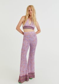 PULL&BEAR - Trousers - lilac - 1