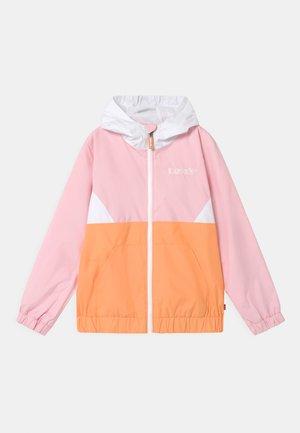 LIGHT WEIGHT OUTERWEAR - Waterproof jacket - canteloupe
