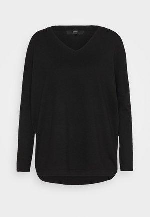 FAVORTITE NECK SPECIAL - Jumper - black