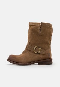 Felmini Wide Fit - GREDO - Cowboy/biker ankle boot - marvin stone - 1