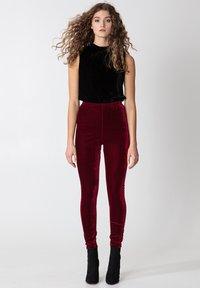 Indiska - Leggings - Trousers - red - 1