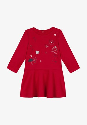 Jumper dress - cherry