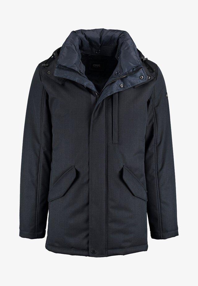 MIT STEPPFUTTER UND PRAKTISCHEN TASCHEN - Light jacket - anthracite