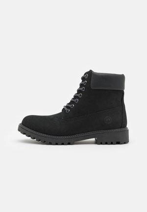 RIVER - Lace-up ankle boots - black