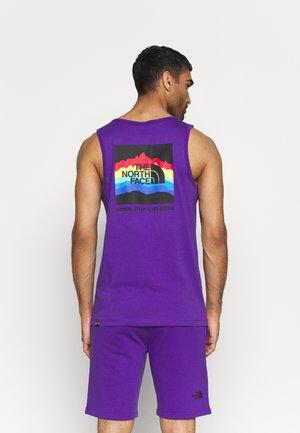 RAINBOW TANK - Top - peak purple