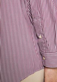 Polo Ralph Lauren Big & Tall - LONG SLEEVE SPORT SHIRT - Shirt - wine/white - 3