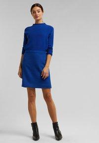 Esprit Collection - A-line skirt - bright blue - 1