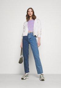 Even&Odd - Basic T-shirt -  mottled lilac - 1