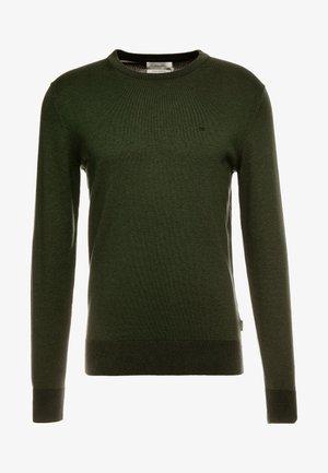 C NECK - Trui - green