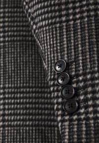 Scotch & Soda - CLASSIC - Classic coat - black/white - 2