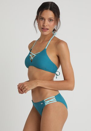 TRIANGLE SET - Bikiny - petrol