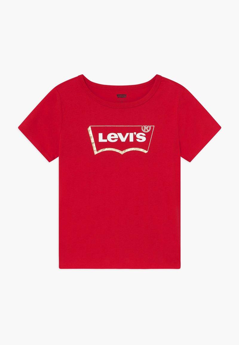 Levi's® - GRAPHIC - Triko spotiskem - super red