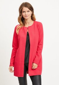 Vila - VINAJA NEW LONG JACKET - Summer jacket - barberry - 0