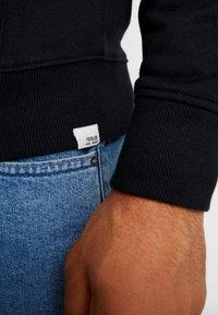 Solid - MORGAN - Zip-up hoodie - black - 3