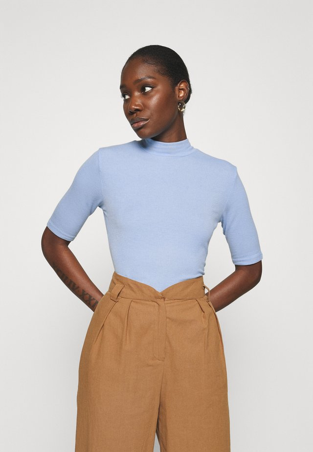 KROWN - T-shirt - bas - chambray blue