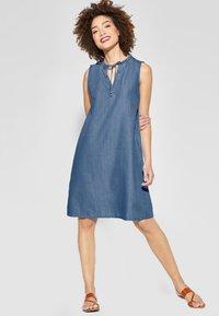Street One - Denim dress - blue - 1