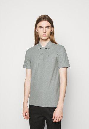 TROY SEASONAL - Polo shirt - stone grey melange