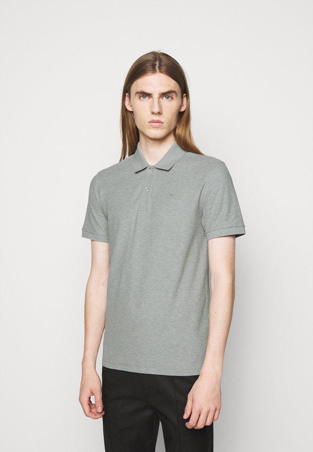 TROY SEASONAL - Poloshirt - stone grey melange