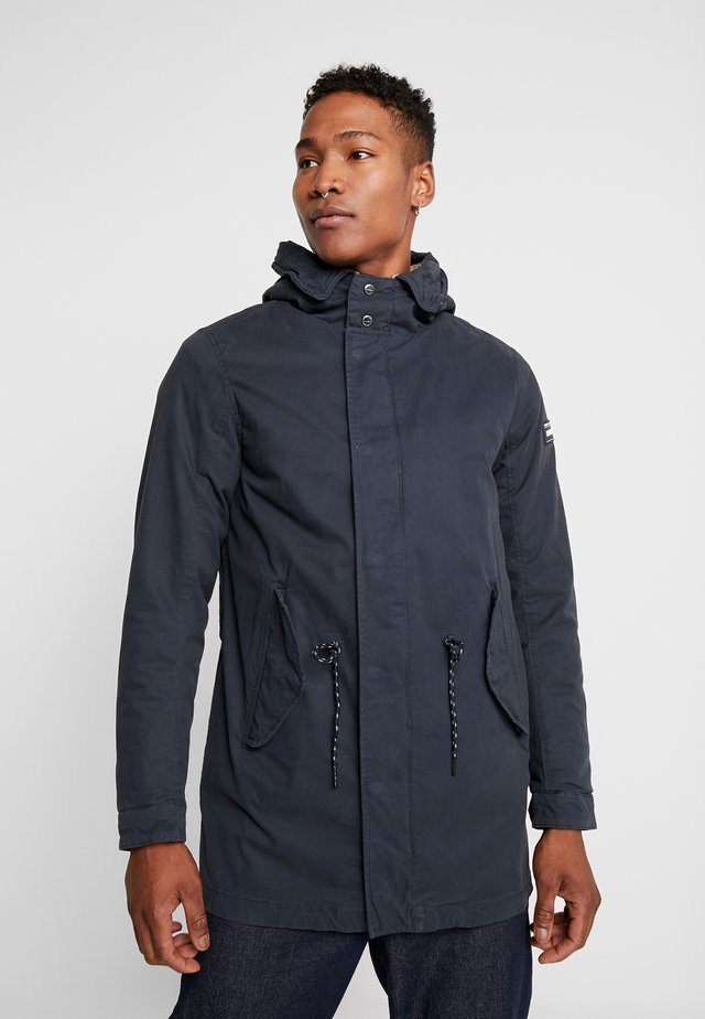 CLASSIC HOODED - Parka - night