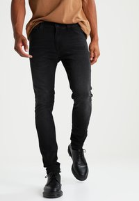 Only & Sons - ONSWARP - Slim fit jeans - black - 0
