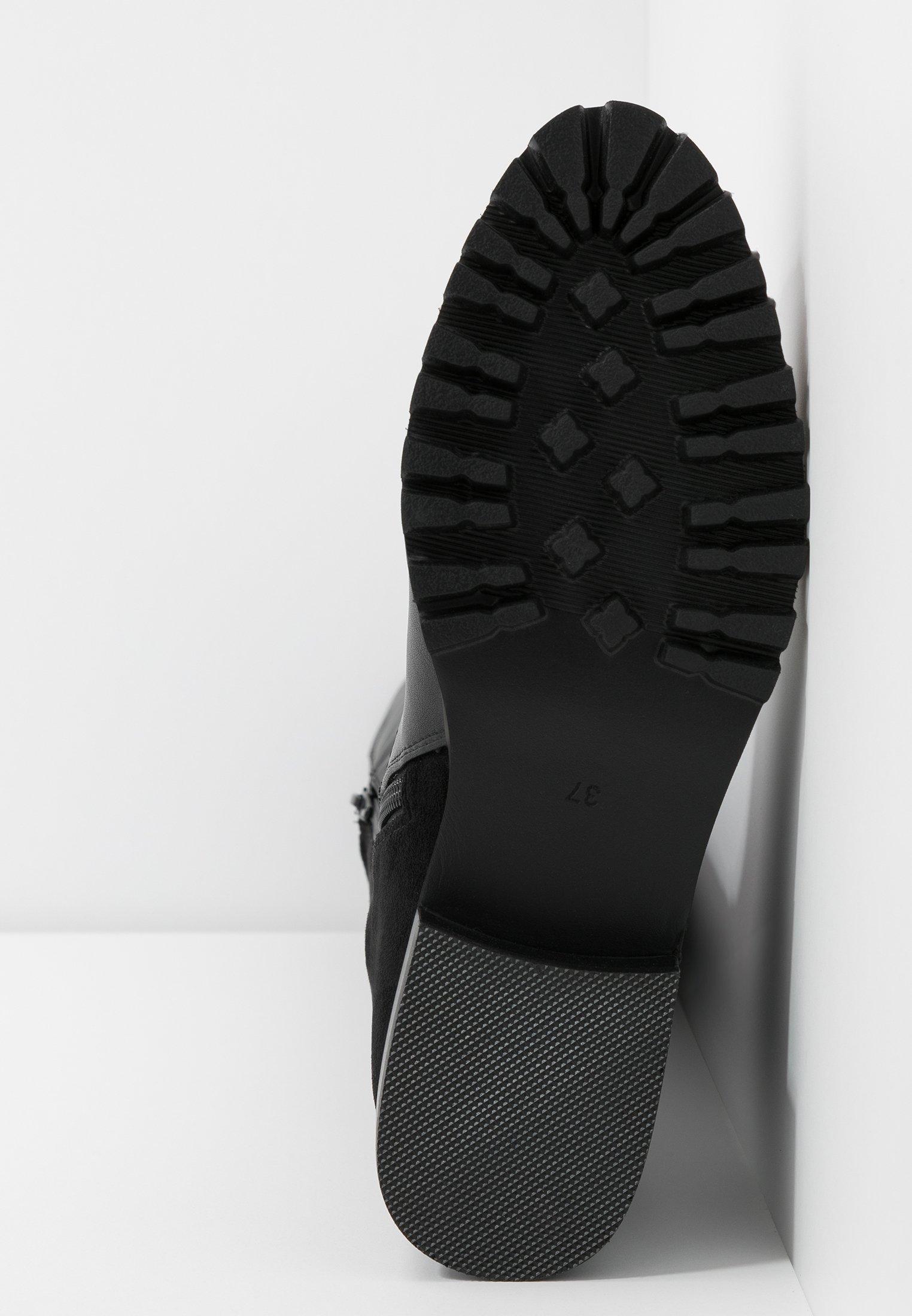 Buffalo FRANCESCA Overknee laarzen black Zalando.nl