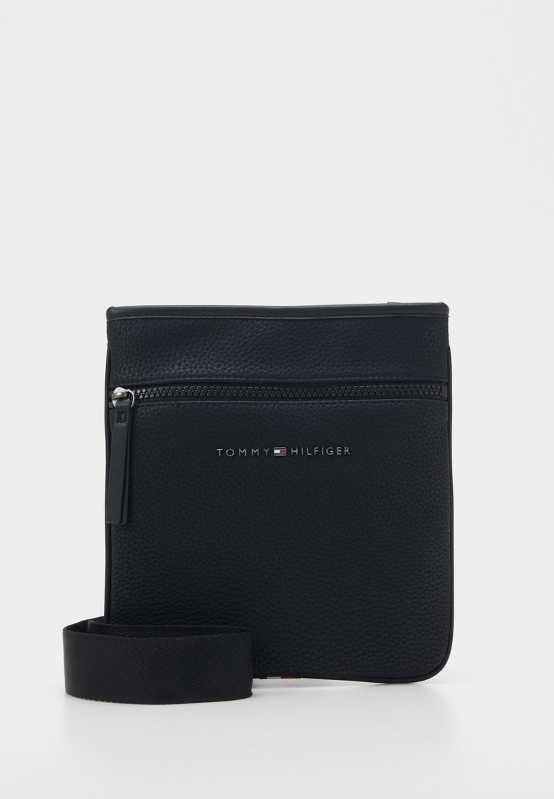 Tommy Hilfiger - ESSENTIAL MINI CROSSOVER - Bandolera - black