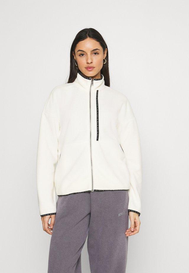 NMKITTY ZIP - Fleece jacket - eggnog