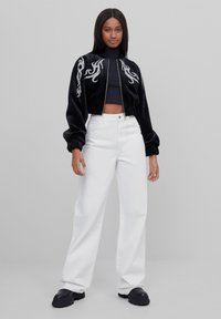 Bershka - Bomber Jacket - black - 1