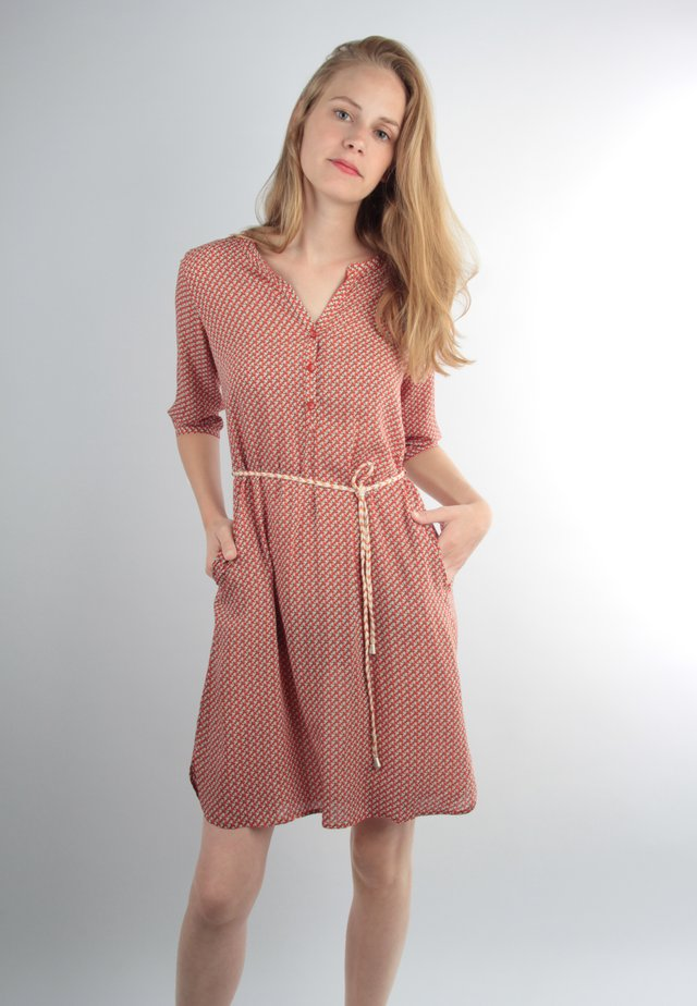 Shirt dress - rot