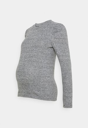 MLCAILA SWEET  - Long sleeved top - grey melange