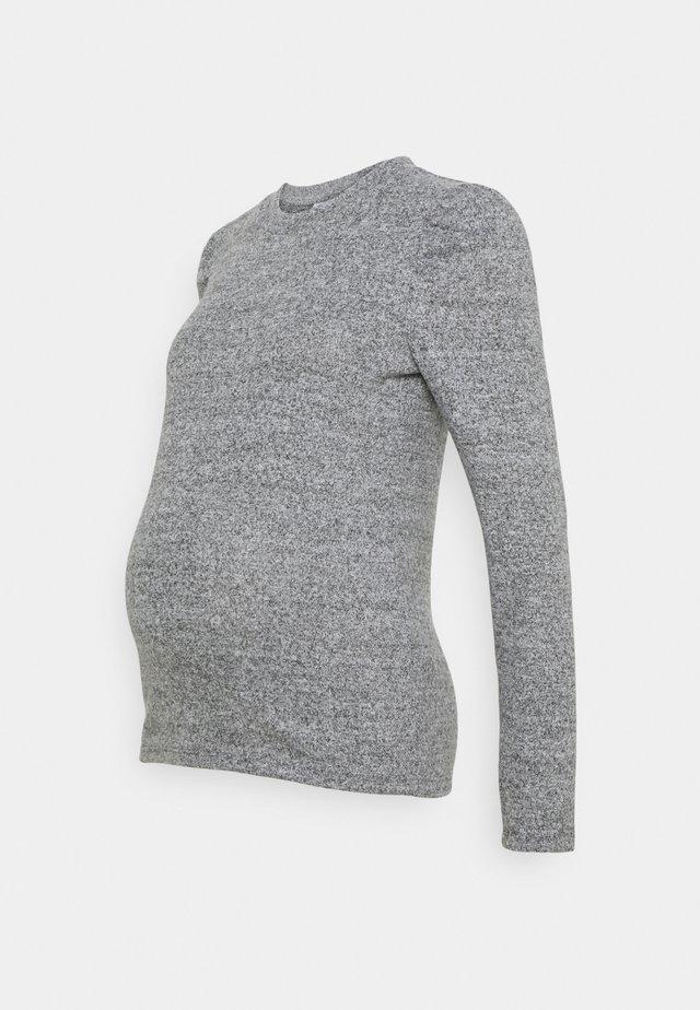 MLCAILA SWEET  - Long sleeved top - grey melange