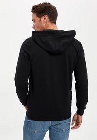 DeFacto - Zip-up hoodie - black - 2